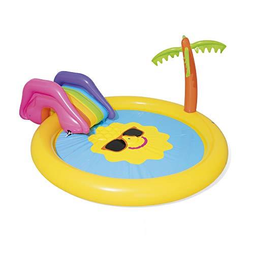 BESTWAY Planschbecken mit Wasserfontäne Sunnyland Splash Play...