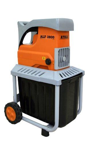 ATIKA ALF 2800 Walzenhäcksler Gartenhäcksler Elektrohäcksler | 230V | 2800W