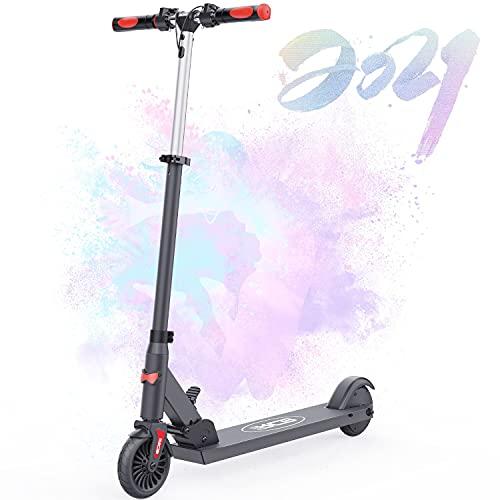 HOVERMAX Elektro Scooter für Kinder, Faltbarer und Verstellbarer...