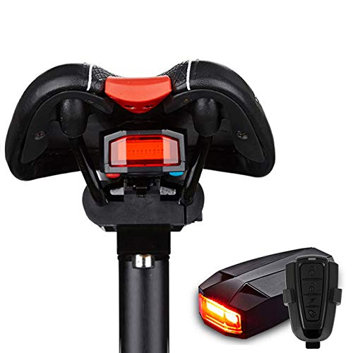Fahrrad Rücklicht,Sicherheitsschloss Alarm LED-Rücklichter...