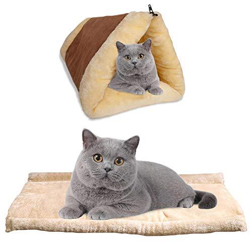 BRKURLEG Selbstheizende Decke für Katzen & Hunde, Größe:...