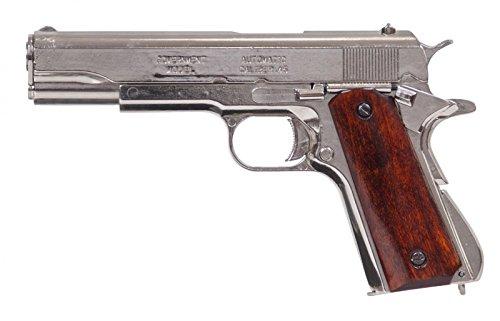 Vogler Denix Replik Colt Goverment M191A1 Silber