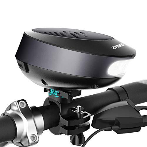RYOKO 10W Portable Wireless Bluetooth Fahrrad Lautsprecher Mit...