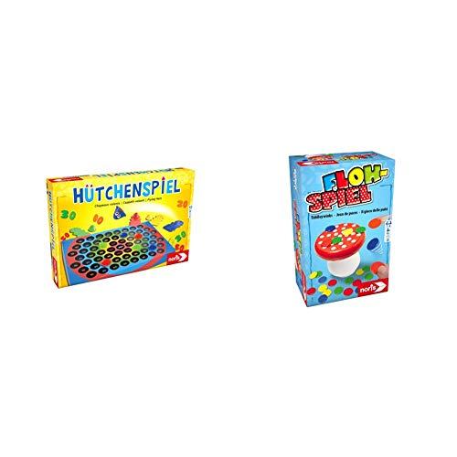 Noris 606049102 606049102-Hütchenspiel, Kinderspiel & 606144010...