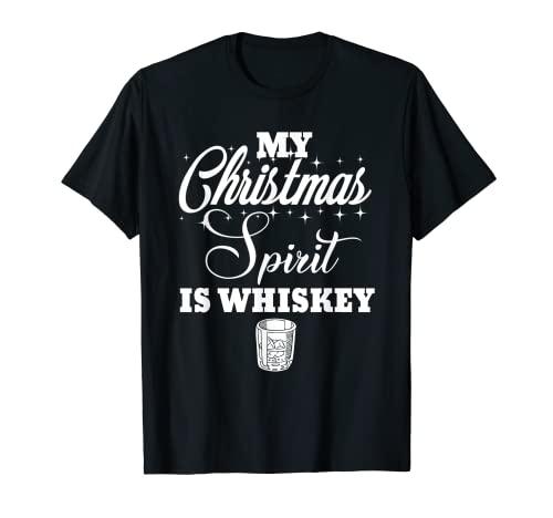 Meine Weihnachtsstimmung ist Whiskey Lustiger Likörtrinker...