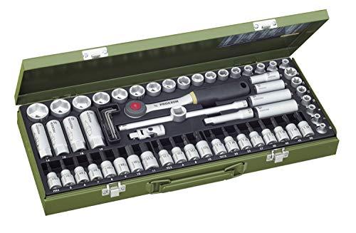 PROXXON Steckschlüsselsatz, Super-Kompaktsatz mit...