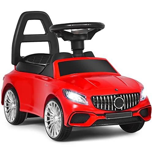 DREAMADE Rutschauto, Rutscher Kinderauto mit Aufbewahrungsbox,...