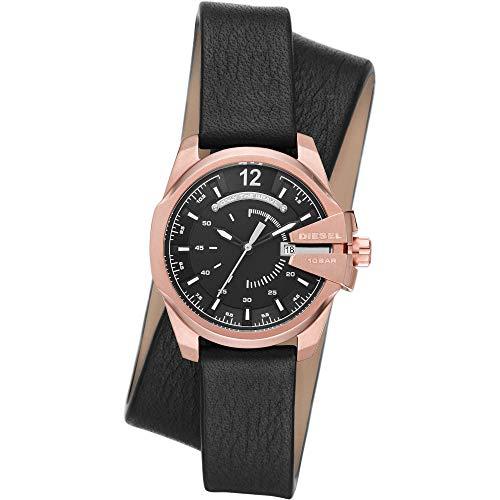 Diesel Womens Analog Quartz Uhr mit Leather Armband DZ5601