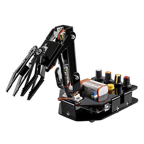 SUNFOUNDER Roboter Bausatz 4-Achsen Servo Steuerung Rollarm,...