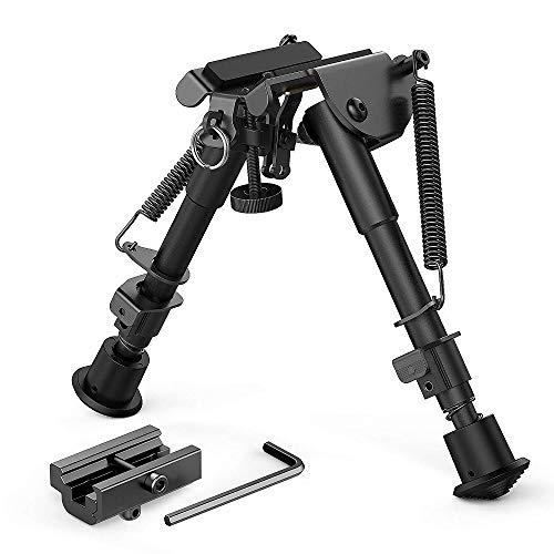 DETECH Einstellbare 6-9 Zoll Gewehr Zweibein Teleskop Pendelkopf...