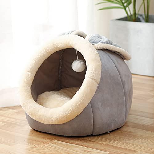 laamei Katzenhöhle für Katzen, Kitten, kleine Hunde & Welpen,...