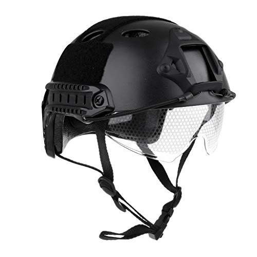 Tubayia Leichtbau Taktische Schnelle Schutz Helm mit Einziehbare...
