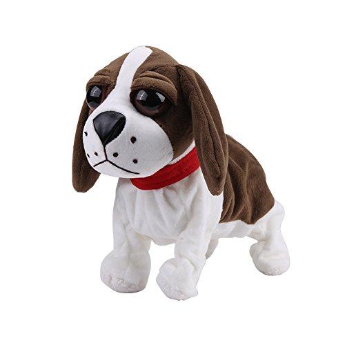 Plüsch elektronische Hundehaustiere reizender bellender Hund...