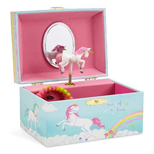 Jewelkeeper - Spieluhr Schmuckkästchen für Mädchen mit...