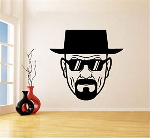 wandaufkleber gaming Room Breaking Bad Heisenberg mit...
