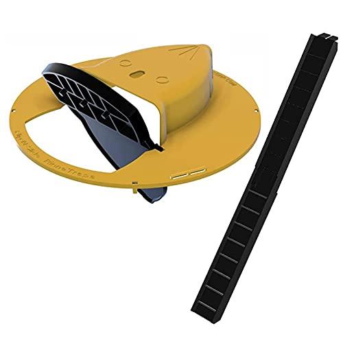 2 Stück Flip Slide Bucket Deckel Maus Safe Trap...