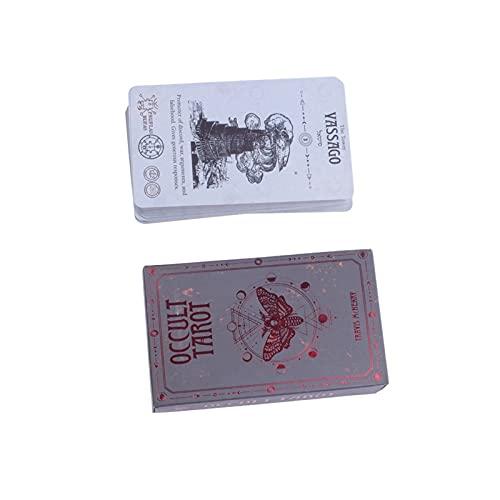 LSANS Tarot-Karten Occulte Oracle Card Board Deck-Spiele-Spiele,...