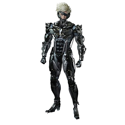 Metal Gear Rising Revengeance Hot Toys 1/6th Scale Action Figure Raiden