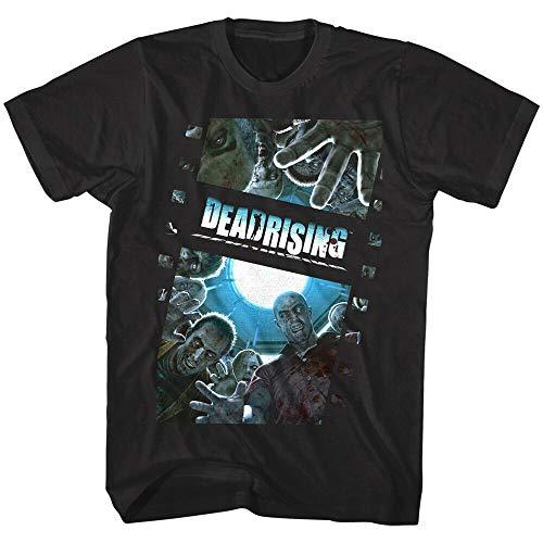 Dead Rising Zombie Film Reel Men's T Shirt Capcom Horror Survival...