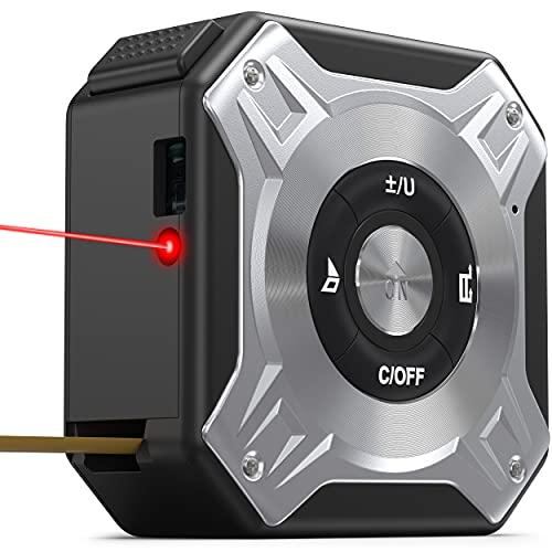 MAVORI® Laser Entfernungsmesser (40m) mit integriertem Maßband...