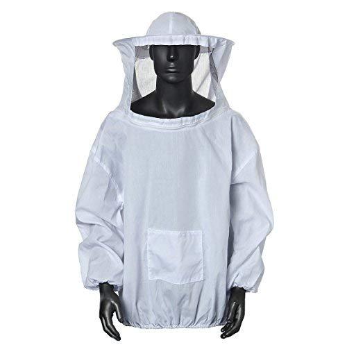 Cisixin Bienenanzug Schützende Bienenzucht Schleier Biene Jacke...