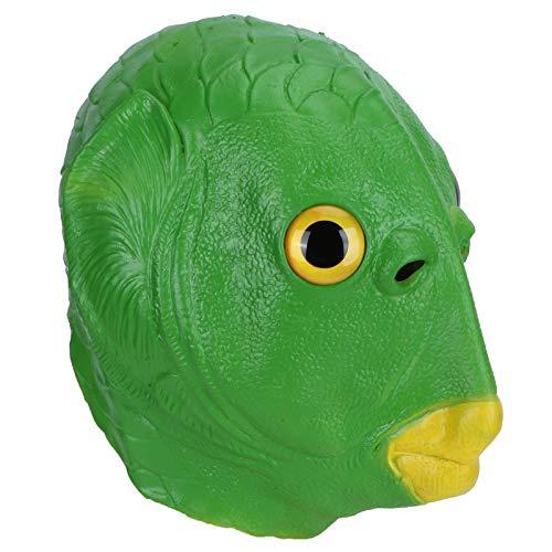 Mxzzand Waschbare Cosplay Prop Latex Kopfbedeckung Naturlatex...