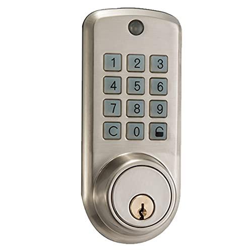 AHOMG Intelligentes Türschloss, Riegelschloss ohne Schlüssel,...