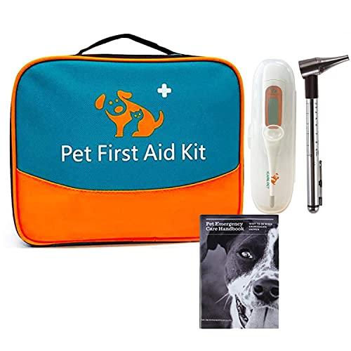 Erste Hilfe Set für Haustiere, tierärztliche Erste-Hilfe-Tasche...