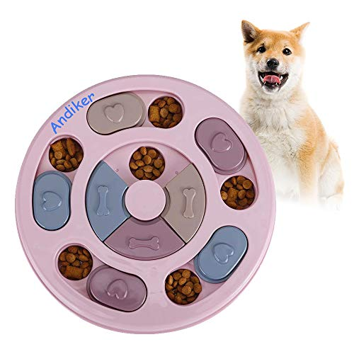 Andiker Rundes Hundespielzeug, Puzzle-Spielzeug, langlebig,...