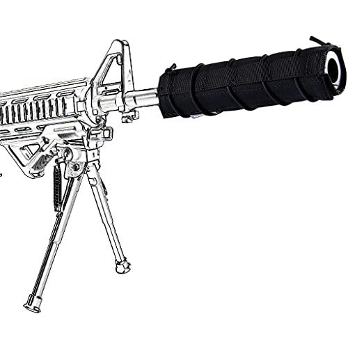 AQzxdc Airsoft Suppressor Cover, Tactical Shooting Muffler...