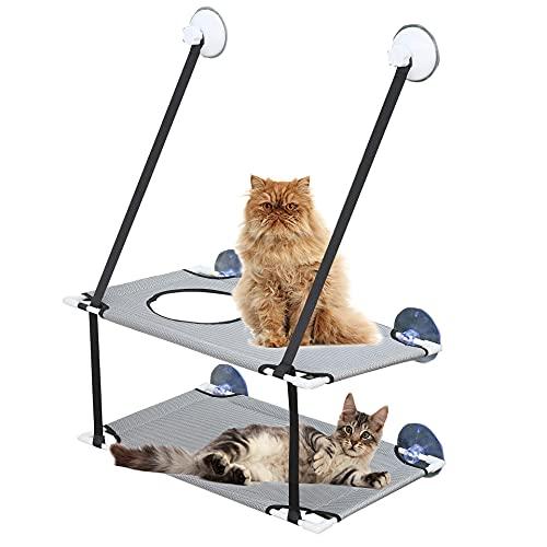 MC-Space Katzen Fensterplätze für Katzenbett Pet Sonnenbad...