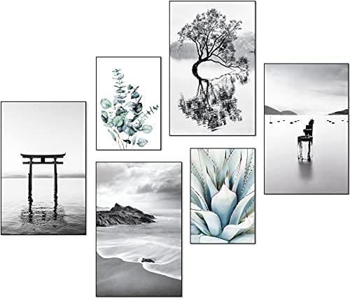 artpin® Moderne Poster Set - Bilder Wohnzimmer Deko Schlafzimmer...