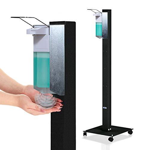 KRIEG Desinfektionssäule stehend I Anthrazit I Hygienestation...