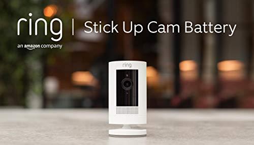 Ring Stick Up Cam Battery von Amazon, WLAN HD-Überwachungskamera...