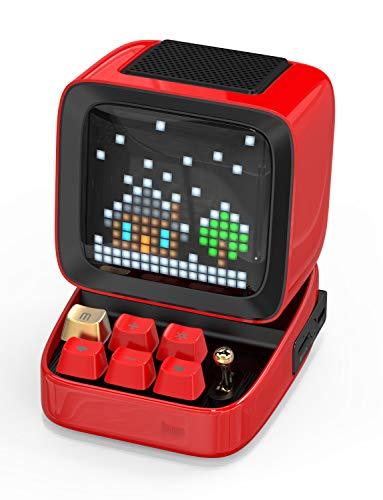 Divoom Ditoo Retro Pixel Art Bluetooth-Lautsprecher mit...