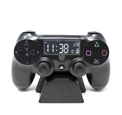 Playstation Digital Wecker LCD   PS4 Dualshock Controller Design...