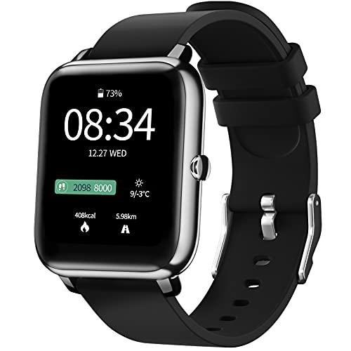Smartwatch für Damen Herren, IDEALROYAL Fitness Tracker mit...