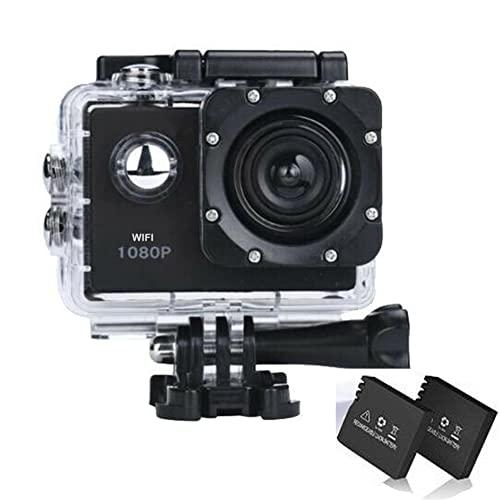 Action Cam Wasserdicht, Action Kamera 14 MP 30 FPS WiFi...