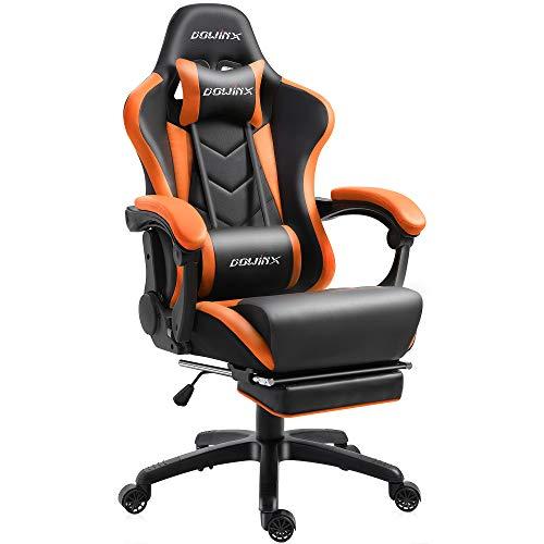 Dowinx Gaming Stuhl Ergonomischer Büro Lehnstuhl für PC mit...