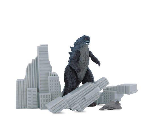 Godzilla Movie 2014 Pack of Godzilla Destruction Building and...