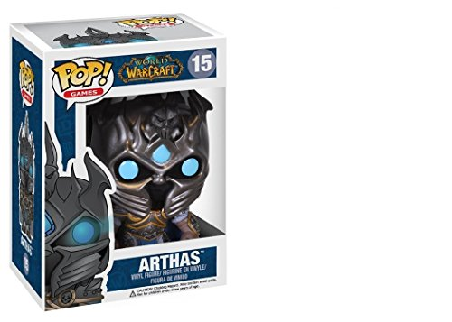 Funko 3334 POP Vinyl World of Warcraft Arthas Figure