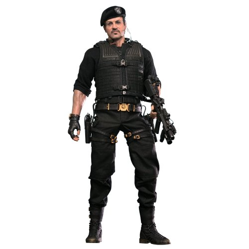 Movie Masterpiece The Expendables 2  Barney Ross 30cm 1/6 scale...