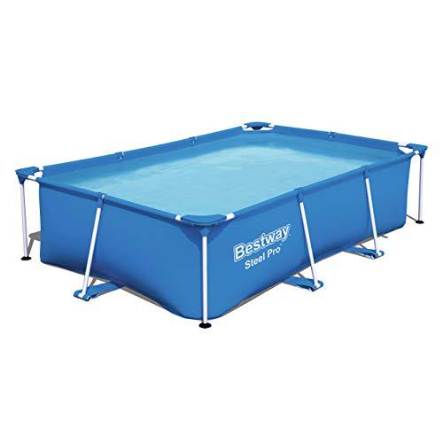 Bestway Steel Pro Frame Pool ohne Pumpe, viereckig 259x170x61 cm,...