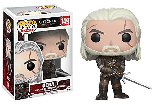 Funko 12134 POP Vinylfigur: The Witcher: Geralt, Mehrfarbig,...