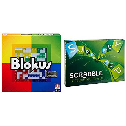 Mattel Games BJV44 - Blokus Strategiespiel und Gesellschaftsspiel...