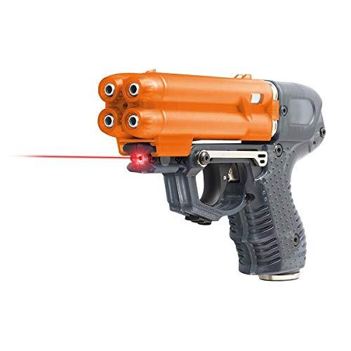PIEXON Pfefferspraypistole JPX6 mit Laser und 4 Schuss...