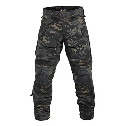 YEVHEV Taktisch Hosen Herren G3 US-Militär Camouflage Ripstop...