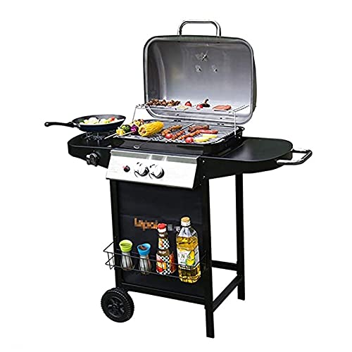 FEANG Grill Outdoor Barbecue Grill Gas Grill Balkon Ofen Gas für...