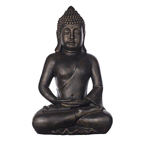 Großer Buddha B4001 Bronze, für Innen und Außen, Buddha Figur...