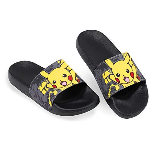 Pokemon Badelatschen Kinder, Pikachu Adiletten Kinder, Hausschuhe...